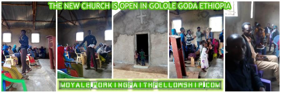 New Church Meeting GMFC - WFF Golole Goda Ethiopia WORLD VISION INTERNATIONAL COMPASSION