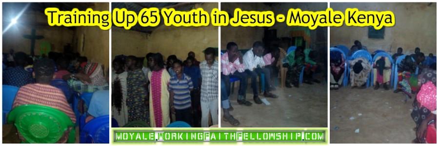 training 65 youth moyale kenya gmfc wff Collage