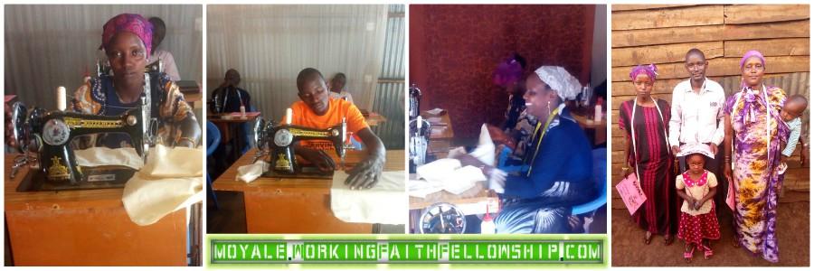 WFF GMFC MOYALE KENYA ETHIOPIA SEWING TRAINING