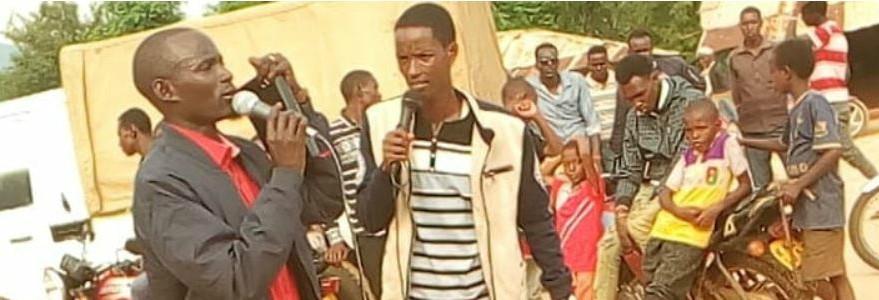 William and Wario Preaching Kenya Jesus