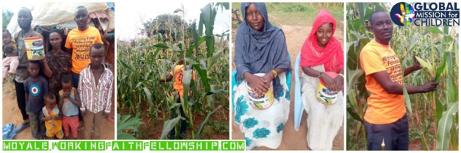 Moyale maize corn farm kenya banner