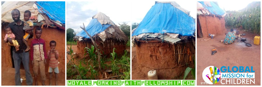 Mud Hut Home Needed Moyale Kenya banner